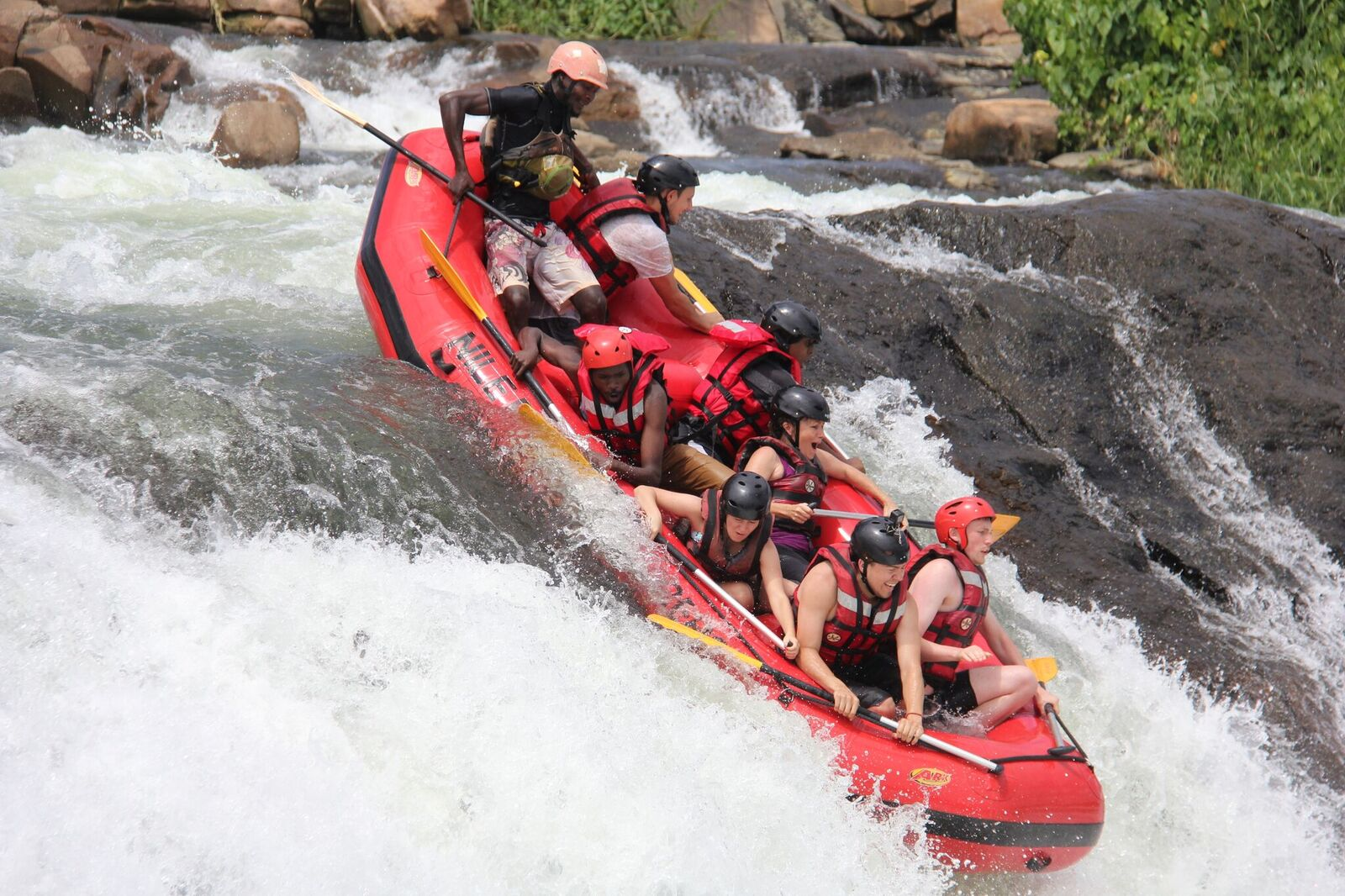 white water rafting Nile River Explorers (2)